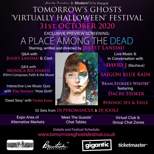 Tomorrow's Ghosts: Virtual Halloween Festival @ Digital