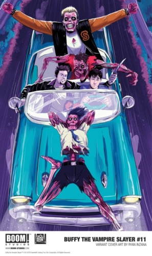 Buffy the Vampire Slayer - Hellmouth #3Credit: BOOM! Studios