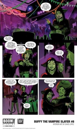 Buffy the Vampire Slayer #8 Hellmouth PreludeCredit: BOOM! Studios