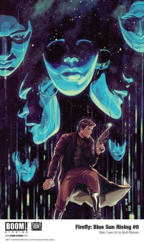 Firefly Blue Sun Rising #0 Cover