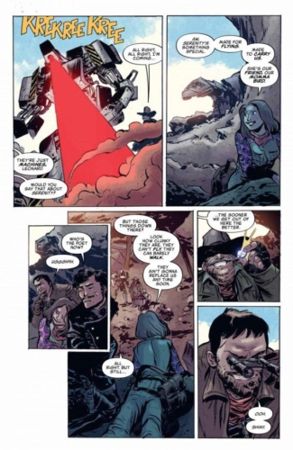 Firefly Blue Sun Rising #0 Page