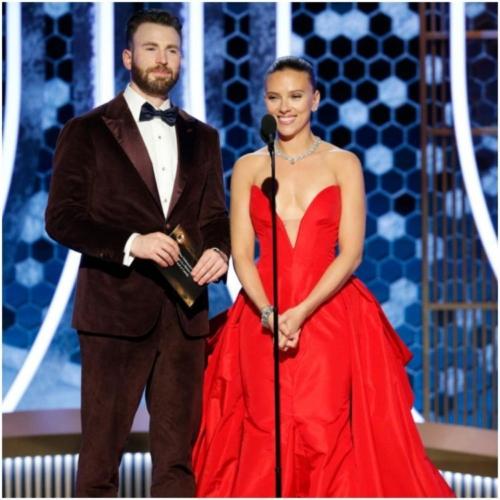 Chris Evans & Scarlett Johansson